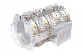 Alüminyum Seperatörlü Hava Soğutma Kabinli Oktagonal Kelepçe Rezistans